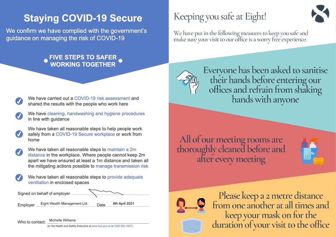 COVID GRAPHIC - Certificate & Info